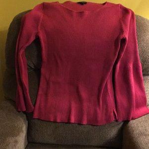 Lane Bryant fuchsia pink sweater. Size 22/24